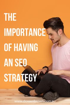 It's incredibly important to have an actual SEO strategy mapped out. This can be created in a couple of ways. If you enjoy using old-school measures, simply grabbing a pen and paper and creating this strategy in your notebook can work. #seo #businessstrategy