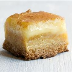 Ooey Gooey Butter Bars: had these last night and they are SERIOUSLY SO GOOD! One of the best desserts I've had in awhile!