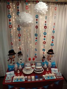 winter wonderland Christmas/Holiday Party Ideas | Photo 3 of 16 | Catch My Party