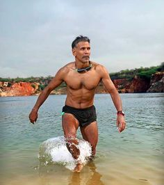 And, yeah, that was twenty years ago. No need to dwell on the past. THIS IS HOW HE LOOKS NOW. | 16 Times Milind Soman Proved That He's A National Treasure