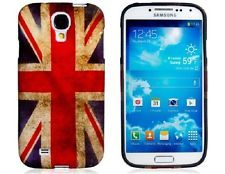 Samsung Galaxy S4 / I9500 Rubber Protective Case Retro UK Flag Design Unique