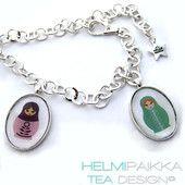 Maatuska vyö - Helmipaikka.fi - Matrjoshka belt - Russian doll belt - Tea Design with love