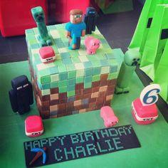 Wow. #minecraft cake | Flickr - Photo Sharing!
