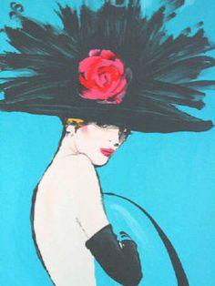 RENEE GRUAU. A great sketch artist. TG