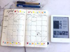 Bullet Journal September Monthly Spread