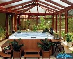 1000 images about hot tub encloses on pinterest hot tubs covered porches and gazebo - Enclosed balcony design ideas oases of serenity ...
