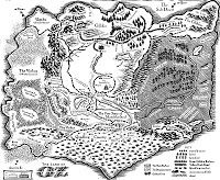 Map of Oz from Wicked