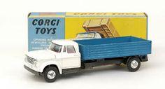 Mettoy Corgi diecast No.483 Dodge Kew Fargo Tipping Truck