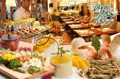 Gastronomic Tour of the World: Divine Eat-All-You-Can Buffet at Manila Hotel`s Cafe Ilang-Ilang starting at P1350! This amazing deal can be yours only here at www.MetroDeal.com!