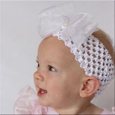 Free Baby Crochet Patterns | BABY CROCHET HEADBAND PATTERN - Crochet — Learn How to Crochet