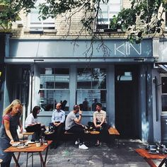 Kin Cafe, London [just around the corner from our last flat]