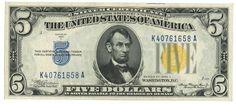 5 DOLLARI - #scripomarket #scripobanknotes #scripofilia #scripophily #finanza #finance #collezionismo #collectibles #arte #art #scripoart #scripoarte #borsa #stock #azioni #bonds #obbligazioni