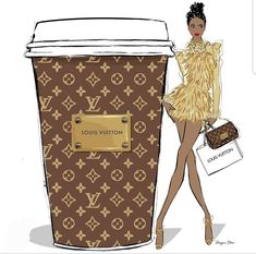 A triple shot Louis Vuitton latte with extra monogram please!