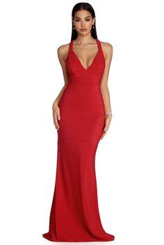 c7f5431c41 Clarissa Formal Bandage Lattice Dress