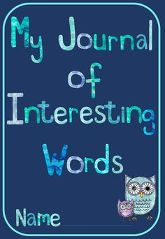 This is a journal in which students can record new/unknown words they come across in their reading. Students have an educated guess at the word's meaning and then record the correct definition in their own words. Throughout the booklet there are several application tasks for students to complete. There is space for 50 words, making this is a great resource to be handed out at the start of a novel study or simply as an ongoing weekly reading task for any text you're focusing on in class…