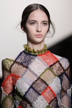 Modern Clown :: Harlequin Fashion - Valentino Fall 2014 RTW / Photography Gianni Pucci