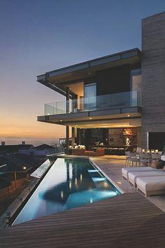 61 ideas house exterior design modern decor for 2019 Future House, My House, House By The Sea, Amazing Architecture, Modern Architecture, Architecture Today, Paris Architecture, Millionaire Homes, Design Exterior