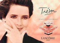 Isabella Rossellini for Lancôme 'Trésor', 1990