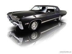 1968 Triple Black Chevrolet Caprice 396-325 HP V8