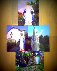 Religious Photography of Virgin Mary Our Lady by blackforestrose, $5.00