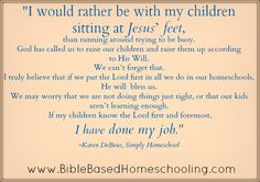 Ten Things Every New Homeschooler Should Know – (and ANY Homeschooler) Part 2 | Bible Based Homeschooling