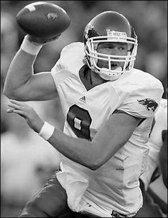 Matt Jones played for the Razorbacks grew up in Van Buren. The boys loved going to watch him play!