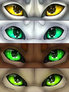 Warriors Eyes #2 by CatFurries Characters: Moonflower, Snowfur, Oakheart, Thrushpelt