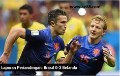 Tuan rumah Piala Dunia 2014, Brasil akhirnya gagal memberi akhir yang manis bagi suporter mereka setelah skuat asuhan Luiz Felipe Scolari tumbang pada laga perebutan posisi ketiga menghadapi Belanda. De Oranje sukses membungkus kemenangan sekaligus mempermalukan Selecao dengan skor 3-0 berkat gol yang dicetak oleh Robin van Persie dan Daley Blind di babak pertama dan kemudian dilengkapi dengan gol ketiga dari Giorgino Wijnaldum di babak kedua. Asia Entertainment 88