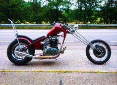 Yamaha XS650 Chopper - The engine was totally rebuilt & bored out, increasing it to 840cc.    http://xs650chopper.com/2016/12/yamaha-xs-840-chopper/?mc_cid=5fafe22799&mc_eid=d0d52f2b1f