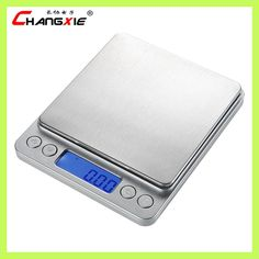 3kg x 0.1g Digital Household Kitchen Scale LCD Display High Precision Electronic balance Scale Stainless Steel Bascula Cocina