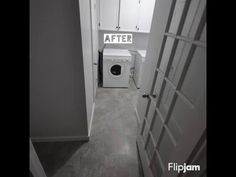 Complete laundry room renovation for under $180!!!!