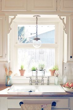 Style Boosts: Ideas for Upgrading a Simple Kitchen Sink Window