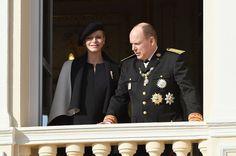 Prince Albert and Princess Charlene at Monaco National Day Celebrations.