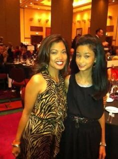 Michelle Malkin and daughter