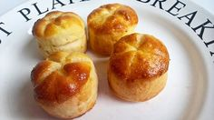 These scones are light and fluffy and not dry at all, they are soft more than one day.