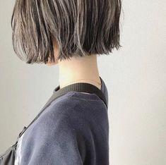 One Length Bobs, Hair Reference, Love Hair, Hair Inspo, Easy Hairstyles, Dyed Hair, Hair Clips, Bangs, Short Hair Styles