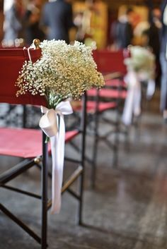 babybreath bouquets... simple and elegant
