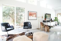 The home is renovated so well that you can't tell it was made in the Sixties. #BaronTips http://www.apartmenttherapy.com/a-diy-obsessed-couples-renovated-sixties-home-in-austin-240017