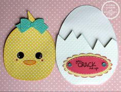 SVG Cutting Files: Easter Peek Out Cards