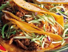 Got dinner plans? Now you do with this yummy Shredded Pork recipe you can start in the morning and have ready when you walk in the door!