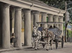 New Orleans Horse and Buggy