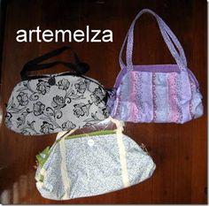 ARTEMELZA - Arte e Artesanato: Bolsa de praia que vira toalha de praia | Beach bag that becomes beach towel