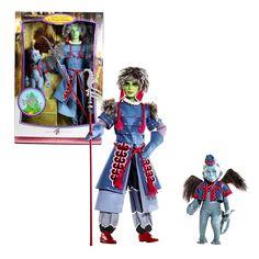 2006 Wizard of Oz Barbie Ken Winkie Guard & Winged Monkey Pink Label Doll NRFB #MATTEL