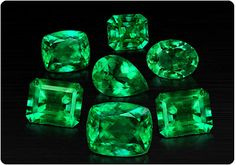 Colombian emeralds....the very best