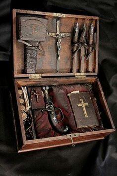 Vampire killing kit.