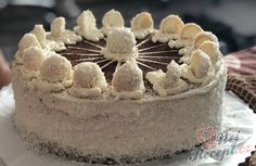 Vynikající borůvkový dort s mascarpone krémem | NejRecept.cz Cupcake Cakes, Cupcakes, Tiramisu, Nutella, Muffins, Cheesecake, Cooking Recipes, Sweets, Baking
