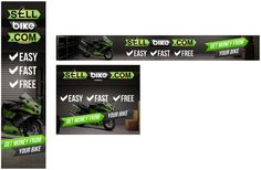 Sellbike.com need you to create a set of interactive web banners by on3-step!