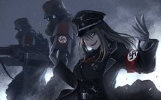 Nazi Soldier Girl - Nazi girl