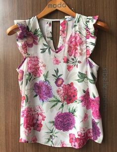 18 Pines nuevos para tu tablero MODA- Beautiful Outfits, Cool Outfits, Casual Outfits, Fashion Outfits, Blouse Styles, Blouse Designs, Love Fashion, Womens Fashion, Couture