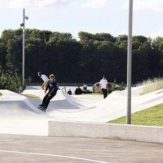 Lemvig Skatepark by EFFEKT « Landscape Architecture Works   Landezine